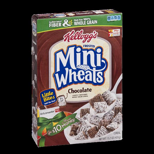 Kellogg's Frosted Mini Wheats Chocolate Little Bites