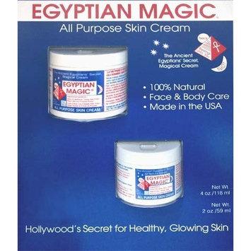 Egyptian Magic All Purpose Skin Cream, 4oz + 2oz Jars (6 ounces total)