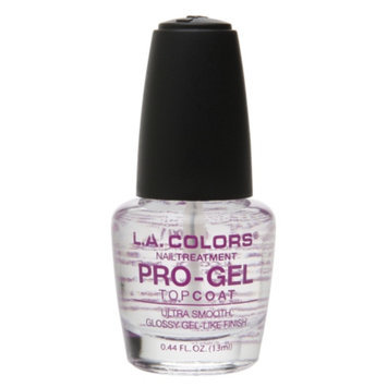 L.A. Colors Pro-Gel Topcoat Nail Treatment