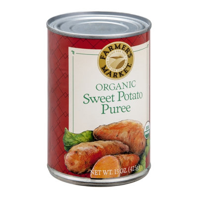 Farmer's Market Sweet Potato Puree Organic