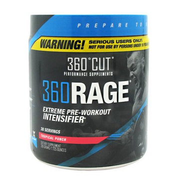 360Cut 7870013 360 Rage Tropical Punch 30 Serving