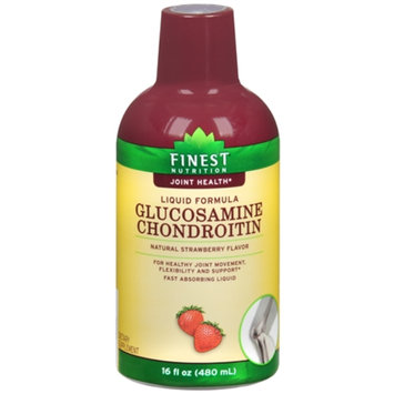 Finest Nutrition Glucosamine Chondroitin Dietary Supplement Liquid