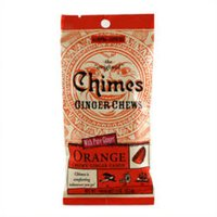 Orange Ginger Chews Chimes 1.5 oz Bag