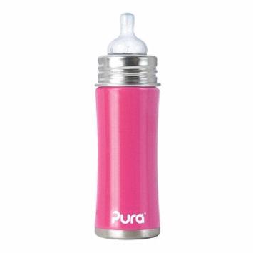 Pura Kiki Stainless Steel Bottle with Medium Flow Nipple