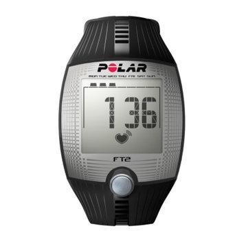 Polar FT2 Heart Rate Monitor, Black, 1 ea