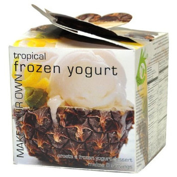 Foxy Gourmet Tropical Make Your Own Frozen Yogurt, 3.2 oz. Boxes (Pack of 3)