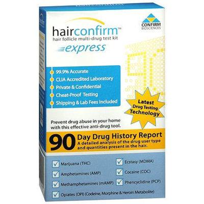 Hair Confirm HairConfirm Express Hair Follicle Multi-Drug Test Kit 7 Panel