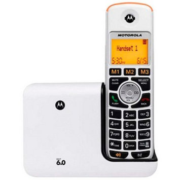 Motorola K301 Dect 6.0 Senior Edition Cordless Phone