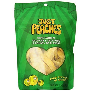 Just Tomatoes Just Peaches, 1.5 Ounce Pouch