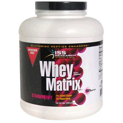 Iss Research ISS Whey Matrix, Cookies & Cream, 5-Pound Plastic Jar