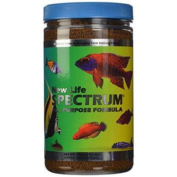 New Life Spectrum Life Spectrum All-Purpose 1mm Sinking Salt/Freshwater Pet Food, 500gm