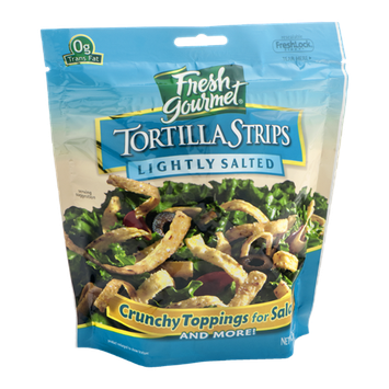 Fresh Gourmet Tortilla Strips Lightly Salted