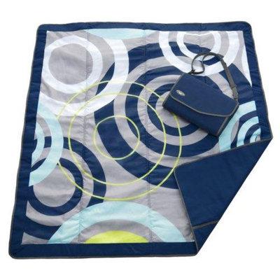 JJ Cole Essentials Blanket, Blue Orbit