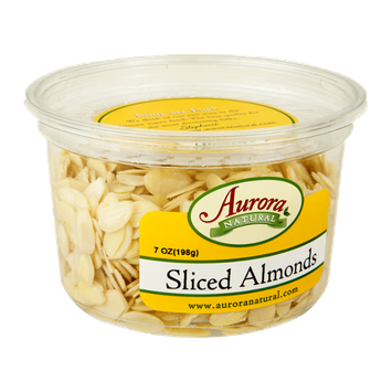 Aurora Natural Sliced Almonds