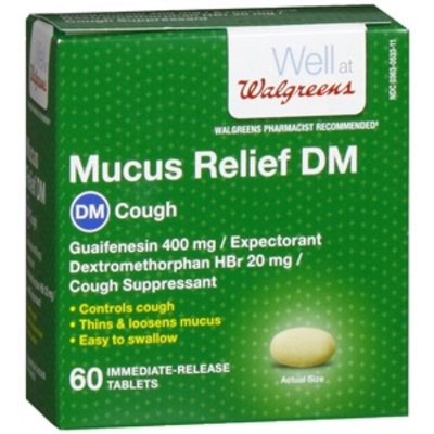 Walgreens Mucus Relief Dm Tablets