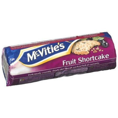 Mcvitie's McVities Fruit Shortcake, 8.82-Ounce (Pack of 6)