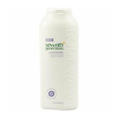 Seventh Generation Nourishing Body Wash Lavender 15 fl oz Case of 3