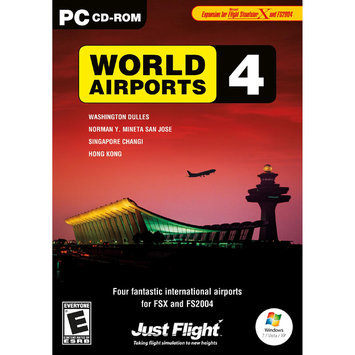 Digital Interactive World Airport 4 - FLIGHT SIMULATOR EXPANSION PACK - Black