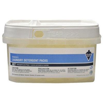 TOUGH GUY 33M001 HE Laundry Detergent, Soluable Pouch, PK50