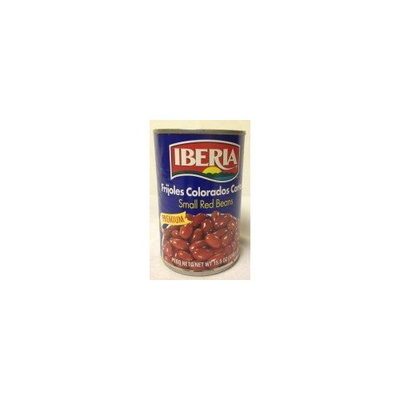 Iberia World Foods Beans, Red, Small, W/S, 15.50-Ounce (Pack of 24)