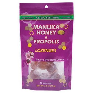 Ys Royal Jelly/honey Bee Manuka Honey And Propolis Lozenges