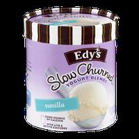 Edy's Slow Churned Yogurt Blends Vanilla