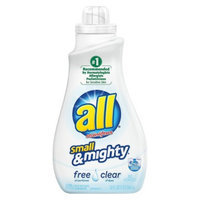All Small & Mighty Free and Clear High-Efficiency Liquid Laundry
