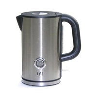 Cordless Kettle w Temperature Display & Stainless Steel Housing