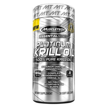 Muscletech Platinum Pure Krill Oil, Softgels