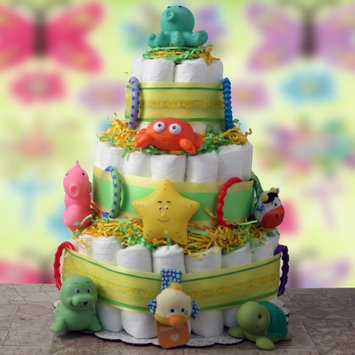 Design It Yourself Gift Baskets Play Time Diaper Cake