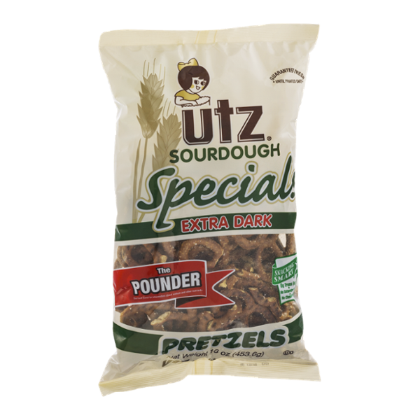 UTZ Specials Sourdough Pretzels Extra Dark