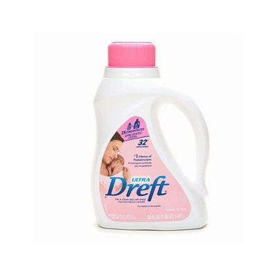 Dreft Ultra Laundry Detergent 2x Concentrated