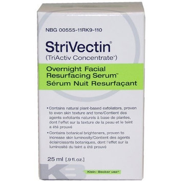 Klein Becker Strivectin Overnight Facial Resurfacing Serum, 0.9 Ounce