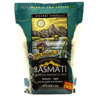 Village Harvest Organic Indian Basmati Rice, 30-Ounce Bags (Pack of 6)