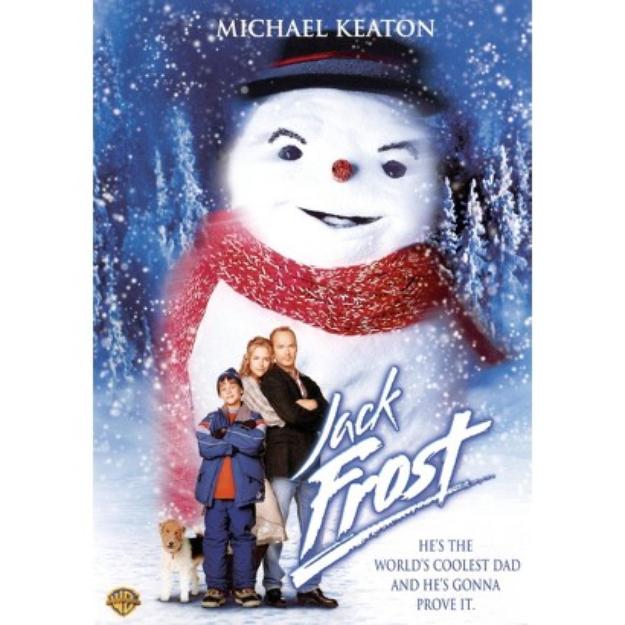 Warner Brothers Jack Frost (1998) Dvd from Warner Bros.