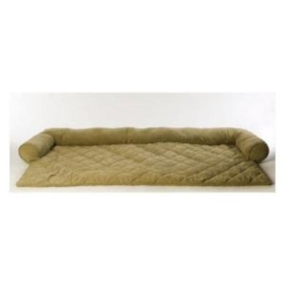 Everest Pet Small Protector Pad with Bolster - Sage-DISCONTINUED