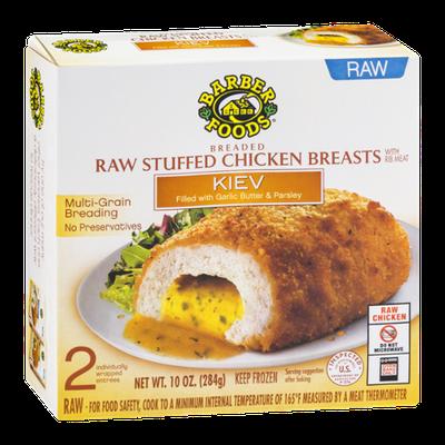 Barber Foods Raw Stuffed Chicken Breasts Kiev - 2 CT