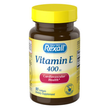 Rexall Vitamin E 400 iu - Softgels, 90 ct