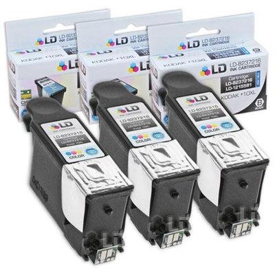 LD Kodak Compatible #10 Set of 3 Black 8237216 Cartridges for EasyShare 5100, 5300, 5500, ESP 3, ESP 3250, ESP 5, ESP 5210, ESP 5250, ESP 7, ESP 7250, ESP 9, ESP 9250, ESP 6150, Hero 7.1, 9.1, 6.1