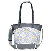 JJ Cole Mode Diaper Tote Bag, Black Magnolia (Discontinued by Manufacturer)