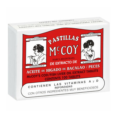 Placeholder Pastillas Mccoy: Tablets Cod/Fish Liver Oil Extract