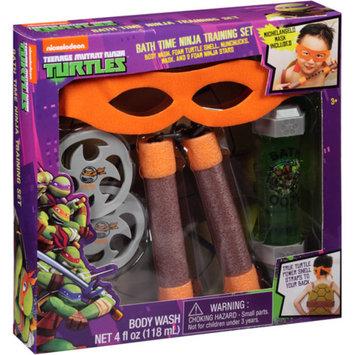 TMNT-NICKLODEON Nickelodeon Teenage Mutant Ninja Turtles Bath Time Ninja Training Bath Play Set, 6 pc