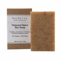 Bayberry Naturals Bar Soap, Oatmeal Spice, 4 oz