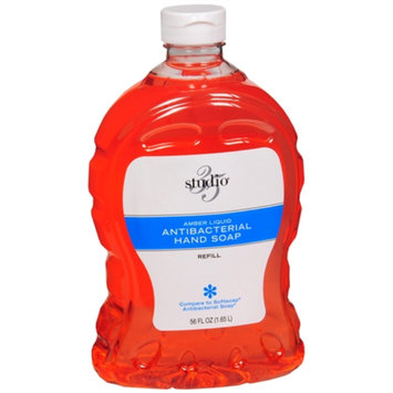 Studio 35 Liquid Antibacterial Hand Soap, Refill, Amber, 56 oz