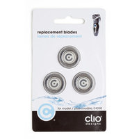 Clio Designs Clio proSHAVE 3 Blade Rotary Shaver Replacement Blades For Model 4050 Shaver