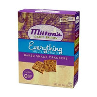 Milton's Crackers - Everything Bites, 8-Ounce (Pack of 6)