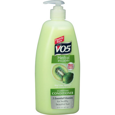 VO5 Herbal Escapes Kiwi Lime Squeeze Clarifying Conditioner, 30 fl oz