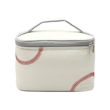 Zumer Baseball Insulated Lunch Box Baseball white - Zumer Travel Coolers