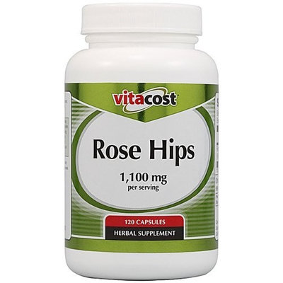 Vitacost Brand Vitacost Rose Hips -- 1,100 mg per serving- 120 Capsules