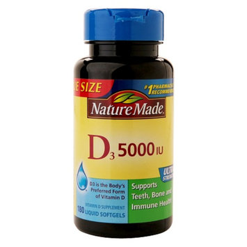 Nature Made Vitamin D3 5000 IU